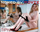 Tiphaine in Strip video from NAKEDBY VIDEO