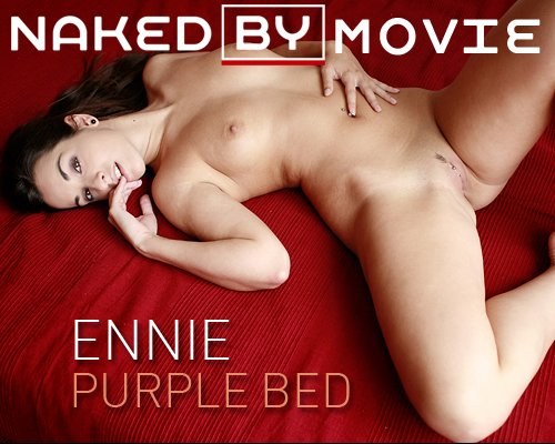 Ennie - `Purple Bed` - for NAKEDBY VIDEO