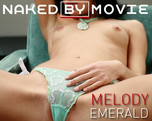 Melody - `Emerald` - for NAKEDBY VIDEO