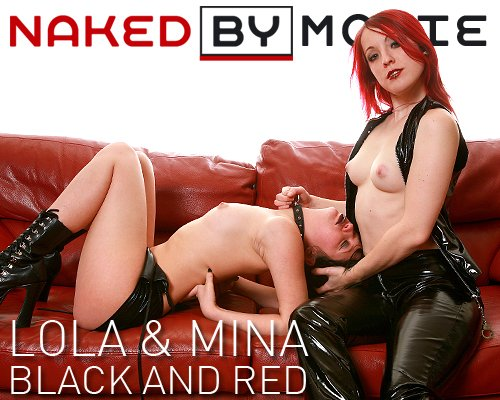 Lola & Mina - `Black and Red` - for NAKEDBY VIDEO