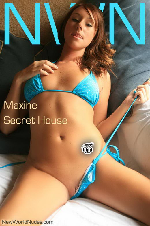 Maxine - `Secret House` - for NEWWORLDNUDES
