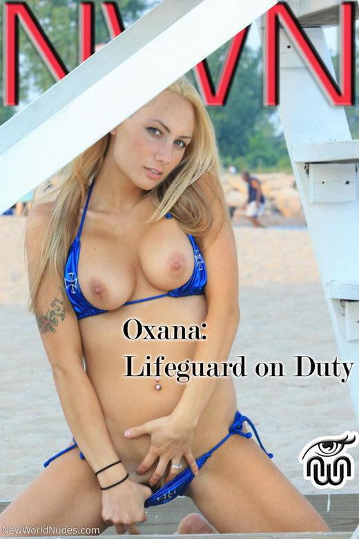 Oxana - `Lifeguard on Duty` - for NEWWORLDNUDES