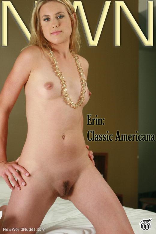 Erin - `Classic Americana` - for NEWWORLDNUDES