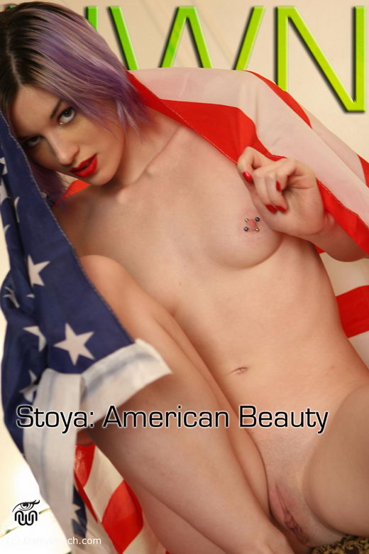 Stoya - `American Beauty` - for NEWWORLDNUDES