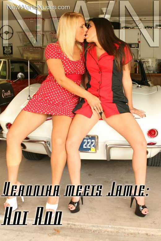 Veronica & Jamie - `Hot Rod` - for NEWWORLDNUDES