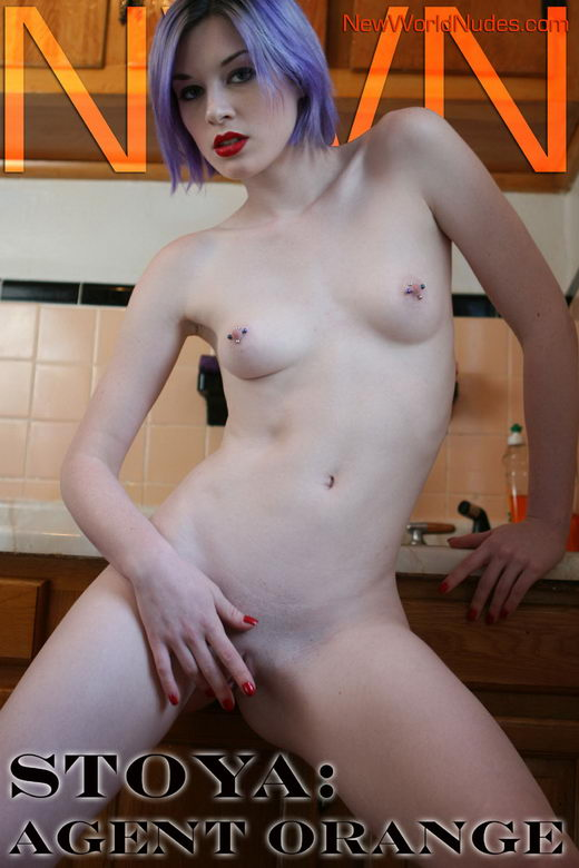 Stoya - `Agent Orange` - for NEWWORLDNUDES