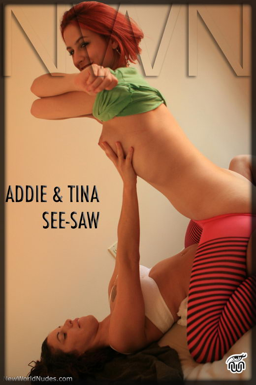 Addie & Tina - `See-Saw` - for NEWWORLDNUDES