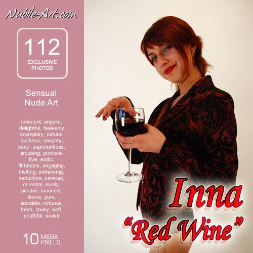 Inna - `Red Wine` - for NUBILE-ART