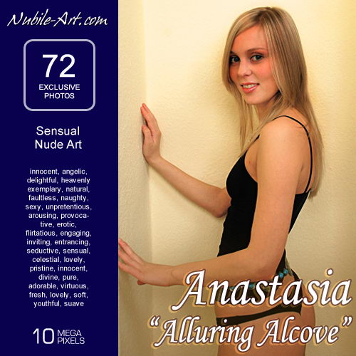Anastasia - `Alluring Alcove` - for NUBILE-ART
