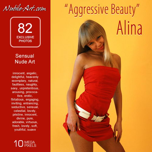 Alina - `Aggressive Beauty` - for NUBILE-ART