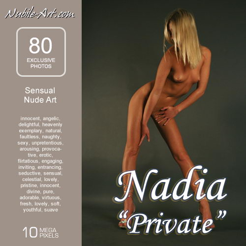 Nadia - `Private` - for NUBILE-ART