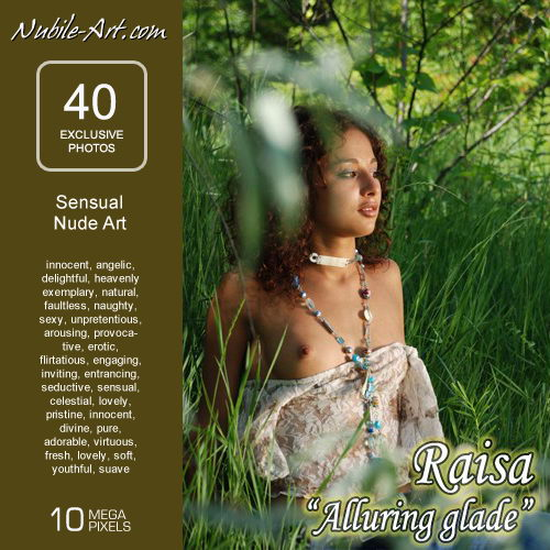 Raisa - `Alluring Glade` - for NUBILE-ART