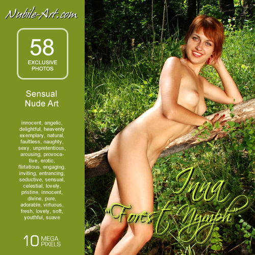 Inna - `Forest Nymph` - for NUBILE-ART