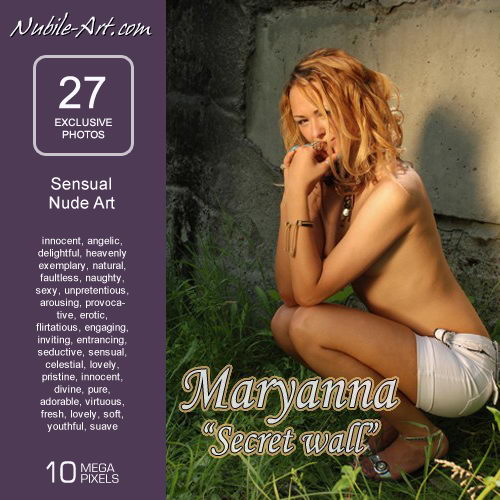 Maryanna - `Secret Wall` - for NUBILE-ART