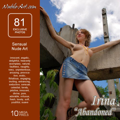 Irina - `Abandoned` - for NUBILE-ART
