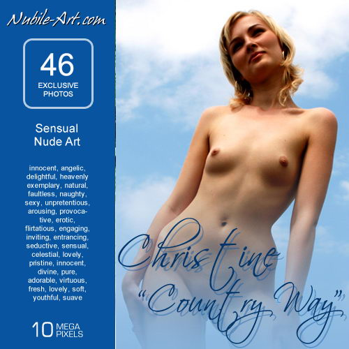 Christine - `Country Way` - for NUBILE-ART