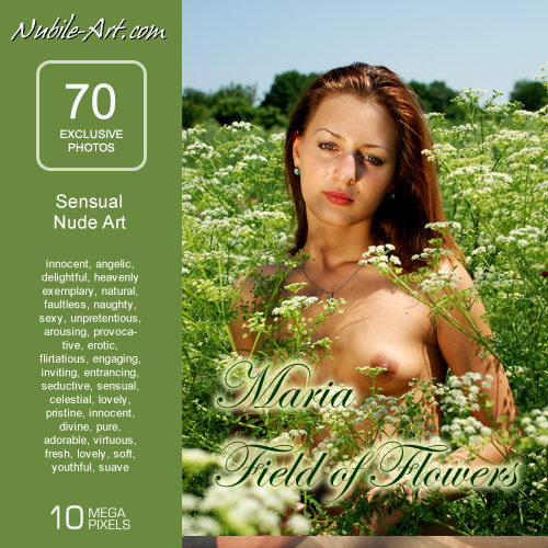 Maria - `Field of Flowers` - for NUBILE-ART