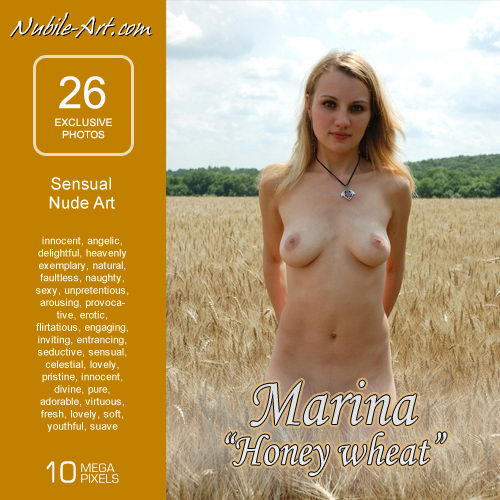 Marina - `Honey Wheat` - for NUBILE-ART