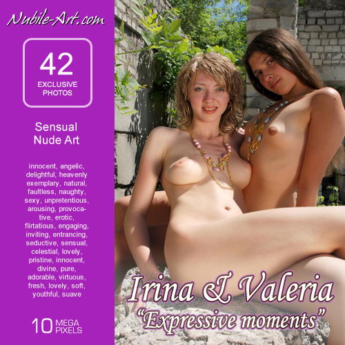 Irina & Valeria - `Expressive Moments` - for NUBILE-ART