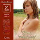 Elena in Field of Pleanty gallery from NUBILE-ART