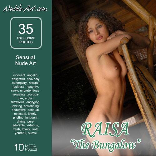 Raisa - `The Bungalow` - for NUBILE-ART