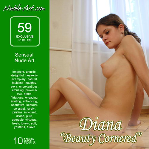 Diana - `Beauty Cornered` - for NUBILE-ART