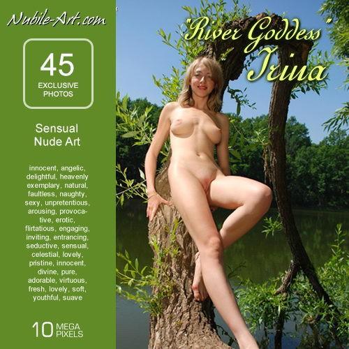 Irina - `River Goddess` - for NUBILE-ART