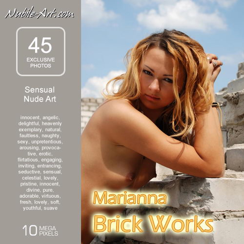 Marianna - `Brick Works` - for NUBILE-ART