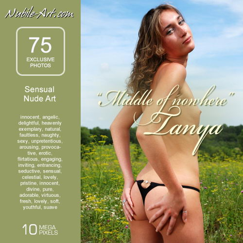 Tanya - `Middle of Nowhere` - for NUBILE-ART