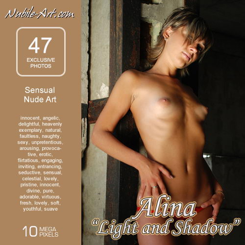 Alina - `Light and Shadow` - for NUBILE-ART