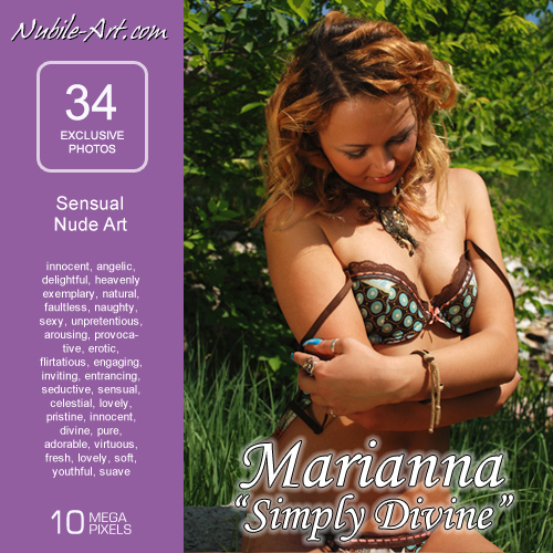 Marianna - `Simply Divine` - for NUBILE-ART