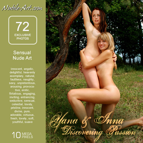 Yana & Inna - `Discovering Passion` - for NUBILE-ART