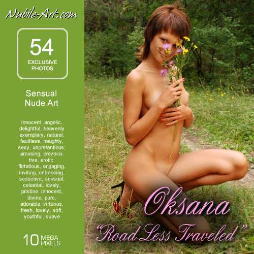 Oksana - `Road Less Travelled` - for NUBILE-ART