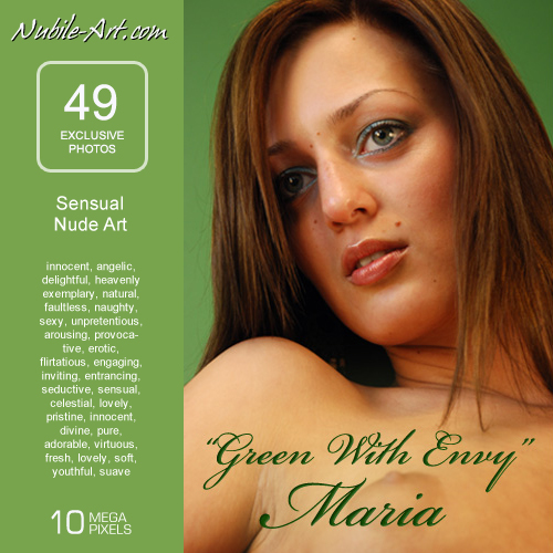 Maria - `Green with Envy` - for NUBILE-ART