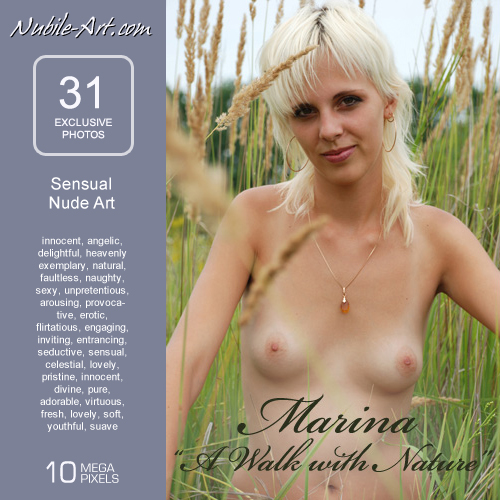 Marina - `A Walk with Nature` - for NUBILE-ART