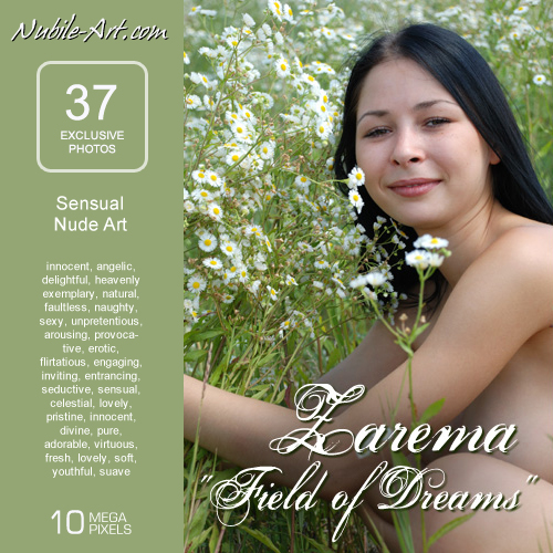 Zarema - `Field of Dreams` - for NUBILE-ART