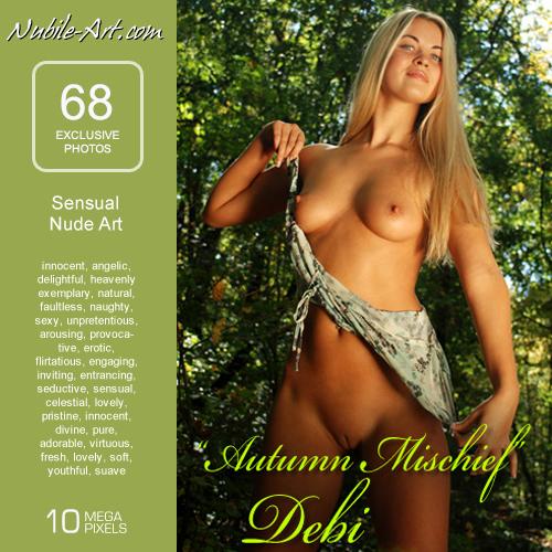 Debi - `Autumn Mischief` - for NUBILE-ART