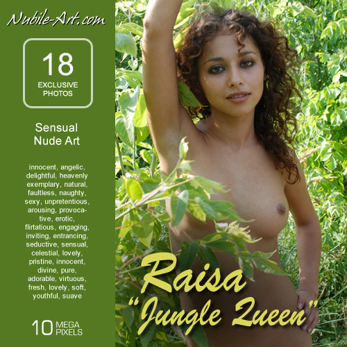 Raisa - `Jungle Queen` - for NUBILE-ART