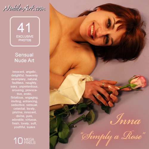 Inna - `Simply a Rose` - for NUBILE-ART