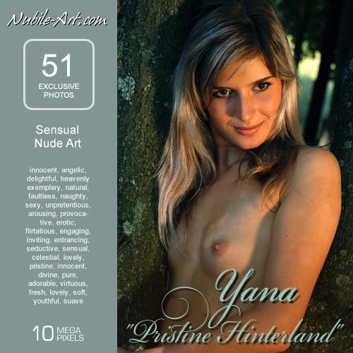 Yana - `Pristine Hunterland` - for NUBILE-ART