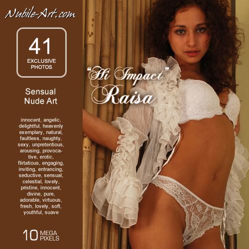 Raisa - `Hi Impact` - for NUBILE-ART
