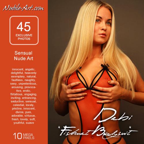 Debi - `Fishnet Bodysuit` - for NUBILE-ART