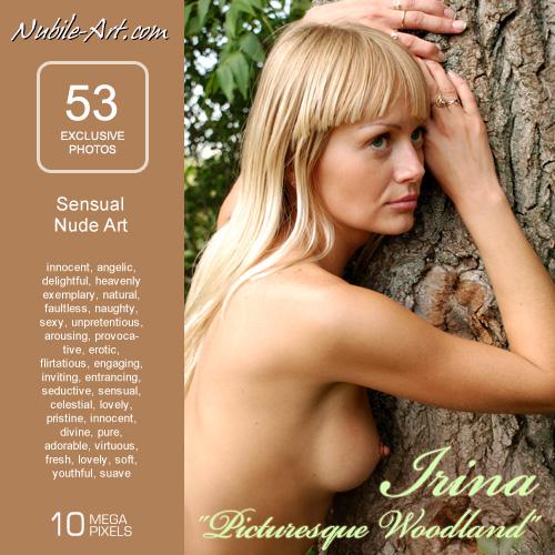 Irina - `Picturesque Woodland` - for NUBILE-ART