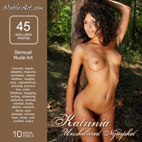 Katrinia - `Unsheltered Nymphet` - for NUBILE-ART