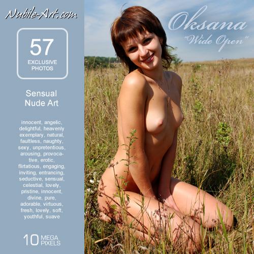 Oksana - `Wide Open` - for NUBILE-ART