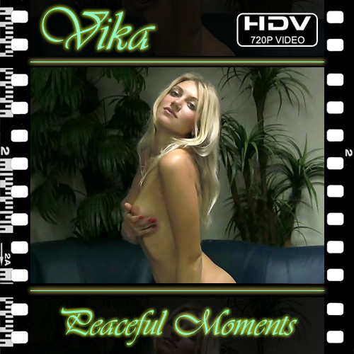 Vika - `Peaceful Moments` - for NUBILE-ART