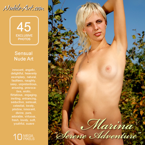 Marina - `Serene Adventure` - for NUBILE-ART