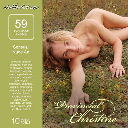 Christine - `Provincial` - for NUBILE-ART