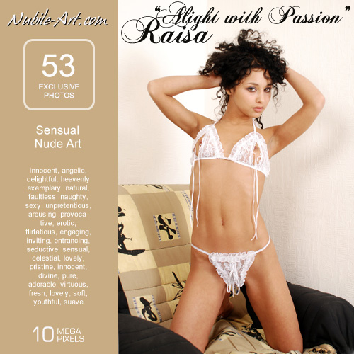 Raisa - `Night with Passion` - for NUBILE-ART