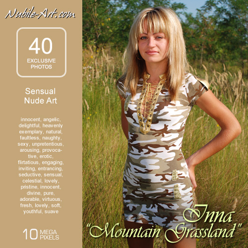 Inna - `Mountain Grassland` - for NUBILE-ART